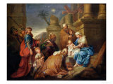Adoration of the Magi Giclee Print by Jacques Stella