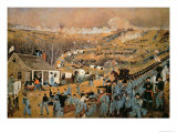 Battle of Fredericksburg, 1862 Giclee Print by John Richards