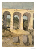 Chirk Aqueduct, 1806-7 Giclee Print by John Sell Cotman