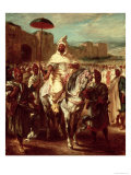 Abd Ar-Rahman Giclee Print by Eugene Delacroix