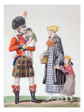 Scottish Family Giclee Print by Antoine Charles Horace Vernet
