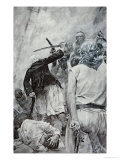 Pirate Fight Giclee Print by Howard Pyle