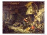 Alchemist, 1611 Giclee Print by Adriaen Jansz. Van Ostade
