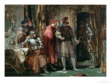The Darnley Conspirators Giclee Print by George Cattermole