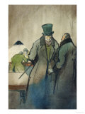 Vautrin, Illustration For Le Pere Goriot, a Novel by Honore de Balzac Giclee Print by  Quint