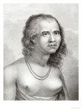 Woman of Eaoo Giclee Print by John Webber