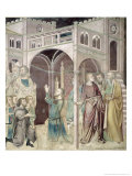 Job Thanking God, 1356-67 Giclee Print by Also Manfredi De Battilori Bartolo Di Fredi