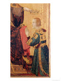 St. Louis of Toulouse Giclee Print by Simone Martini