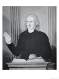 Francis Asbury Giclee Print by Charles Peale Polk