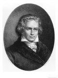 Ludwig Van Beethoven Giclee Print by Auguste Charles Lemoine