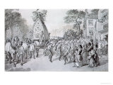 May Day at Bowdon, Cheshire Giclee Print by Warwick Brookes