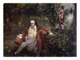 Postcard Depicting Ludwig Van Beethoven Giclee Print by Hans Leithner