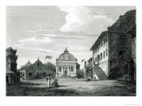 Government House at Malacca, Engraved by George Cooke Giclee Print by Edward Hawke Locker