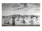 Bombay on the Malabar Coast Belonging to the East India Company of England, 1754 Giclee Print by Jan Van Ryne