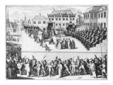Inquisition Trial in Spain Giclee Print by Adriaan Schoonebeek