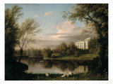 View of the Pavlovsk Palace, c.1800 Giclee Print by Carl Ferdinand Von Kugelgen