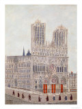 Rheims Cathedral, c.1923 Giclee Print by Louis Vivin