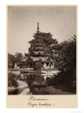 Buddhist Rest House, Moulmein, Burma, c.1875 Giclee Print by Colin Roderick Murray