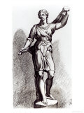 Atalanta, c.1653 Giclee Print by Francois Perrier