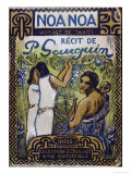 Cover Illustration of Noa Noa Giclee Print by Paul Gauguin