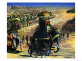 The Last Great Durbar in June 1911 Giclee Print by Graham Coton