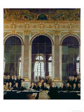 The Treaty of Versailles, 1919 Giclee Print by Sir William Orpen