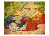 Cats, 1909-10 Giclee Print by Franz Marc