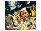 We Have a Problem Here! What Went Wrong with Apollo 13 Giclee Print by Wilf Hardy