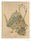 Teapot and Cup, Fantaisies Decoratives, Librairie de L'Art, Paris, 1887 Giclee Print by Jules Auguste Habert-dys