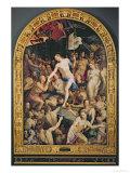 Christ in Limbo, 1552 Giclée-tryk af Agnolo Bronzino