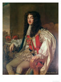 Portrait of Charles II Giclee Print by Sir Peter Lely