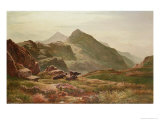 Highland Scene Giclee Print by Sidney Richard Percy