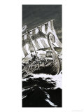 Viking Ship Giclee Print