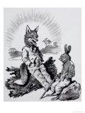Brer Rabbit and Brer Fox, 1962 Giclee Print
