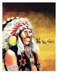 Custer's Last Stand Giclee Print by Don Lawrence