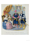 Old Costumes of the Polish Nobility Giclee Print by Jan Lewicki