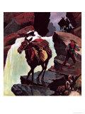 The Mule Giclee Print