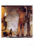 Roman Sculptors, 1877 Giclee Print by Sir Lawrence Alma-Tadema