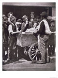Half Penny Ices, from Street Life in London, 1876-77 Reproduction procédé giclée par John Thomson