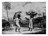 Sunday Morning in the Country, from Brigden's West Indian Sketches, 1851 Giclee Print by Richard Bridgens