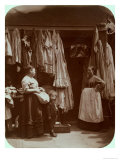 The Old Clothes Shop, Seven Dials, from Street Life in London, 1877-78 Giclee Print by John Thomson