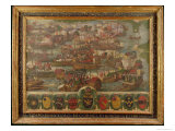 Naval Battle of Lepanto, 1571 Giclee Print