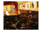 The Cafe-Concert, c.1904 Giclee Print by Louis Abel-Truchet
