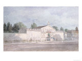 Exterior View of Astley's Amphitheatre, 1777 Giclee Print by William Capon