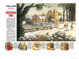 Focus on Christmas Time Giclee Print by Ronald Lampitt