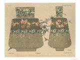 Vases, Plate 28, Fantaisies Decoratives, Librairie de L'Art, Paris, 1887 Giclee Print by Jules Auguste Habert-dys