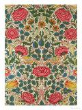 Rose, 1883 Reproduction procédé giclée par William Morris