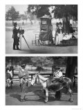 Photography on the Common and Waiting For Hire, 1876-77 Giclee Print by John Thomson