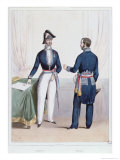 French Prefect and Mayor During the Period Giclee Print by Alexandre Lacauchie