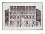 Design by Andrea Palladio, Engraved by Gaetano Testolini Giclee Print by Ottavio Bertotti-scamozzi